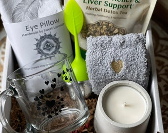 Get well gift set | Spa box | Gifts fir her | Gift Box | healing vibes | treat yourself