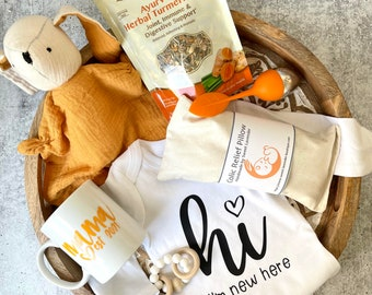 New Mom Gift Box- new mom relaxation care package, self-care gift for new mom, new baby gift, mom encouragement gift set