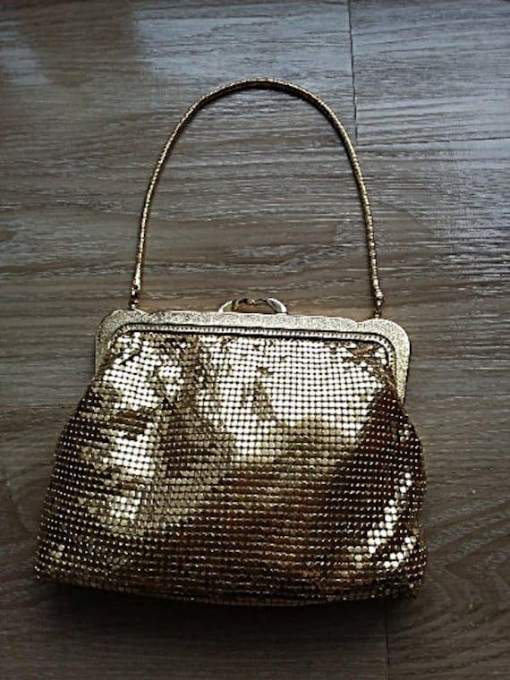 Vintage Black Evening Handbag 60\u2019s Holiday Purse