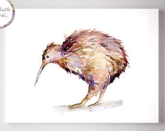 Bird Watercolor Etsy