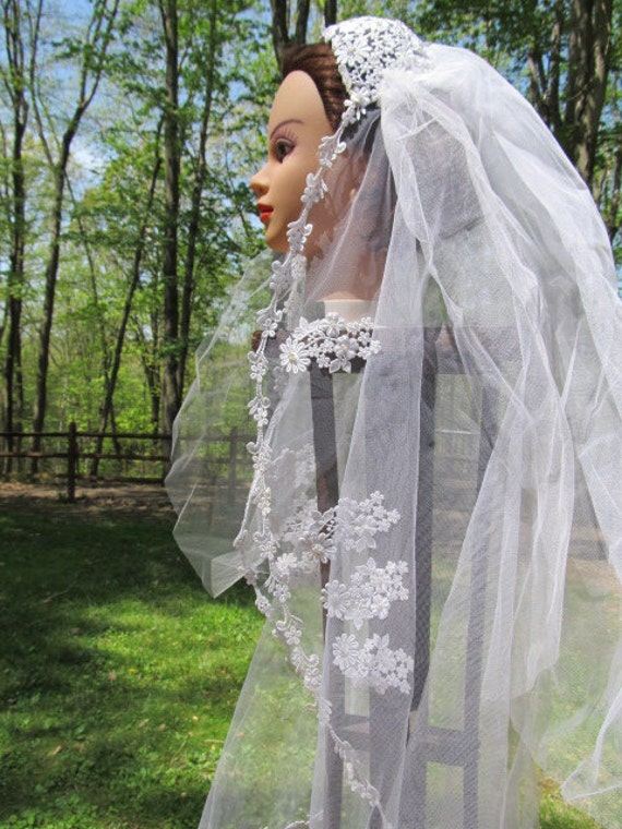 1950's Wedding/Bridal Veil - image 2