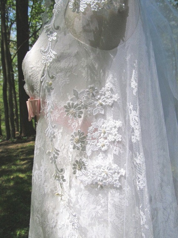 1950's Wedding/Bridal Veil - image 4