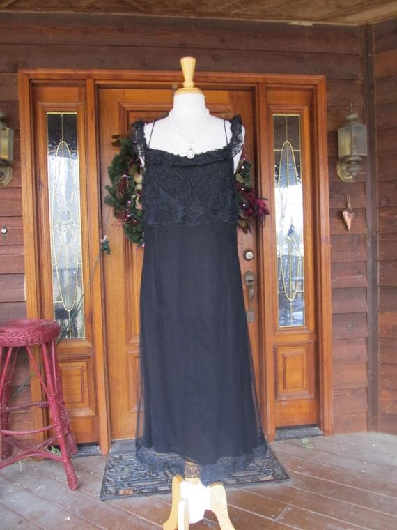 SALE- April Cornell Black dress