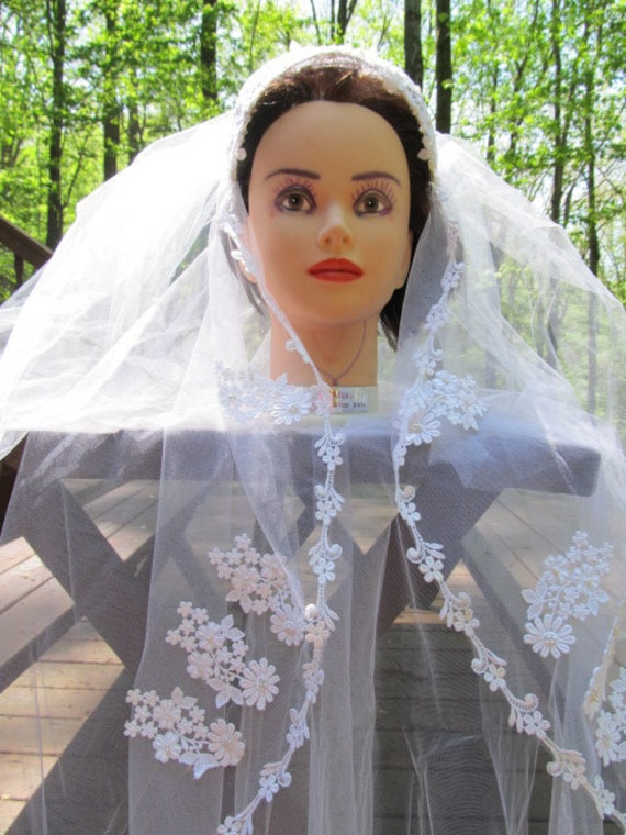 1950's Wedding/Bridal Veil - image 3