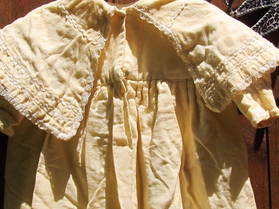Sale - Sale -Victorian Baby Coat and bonnet - image 3