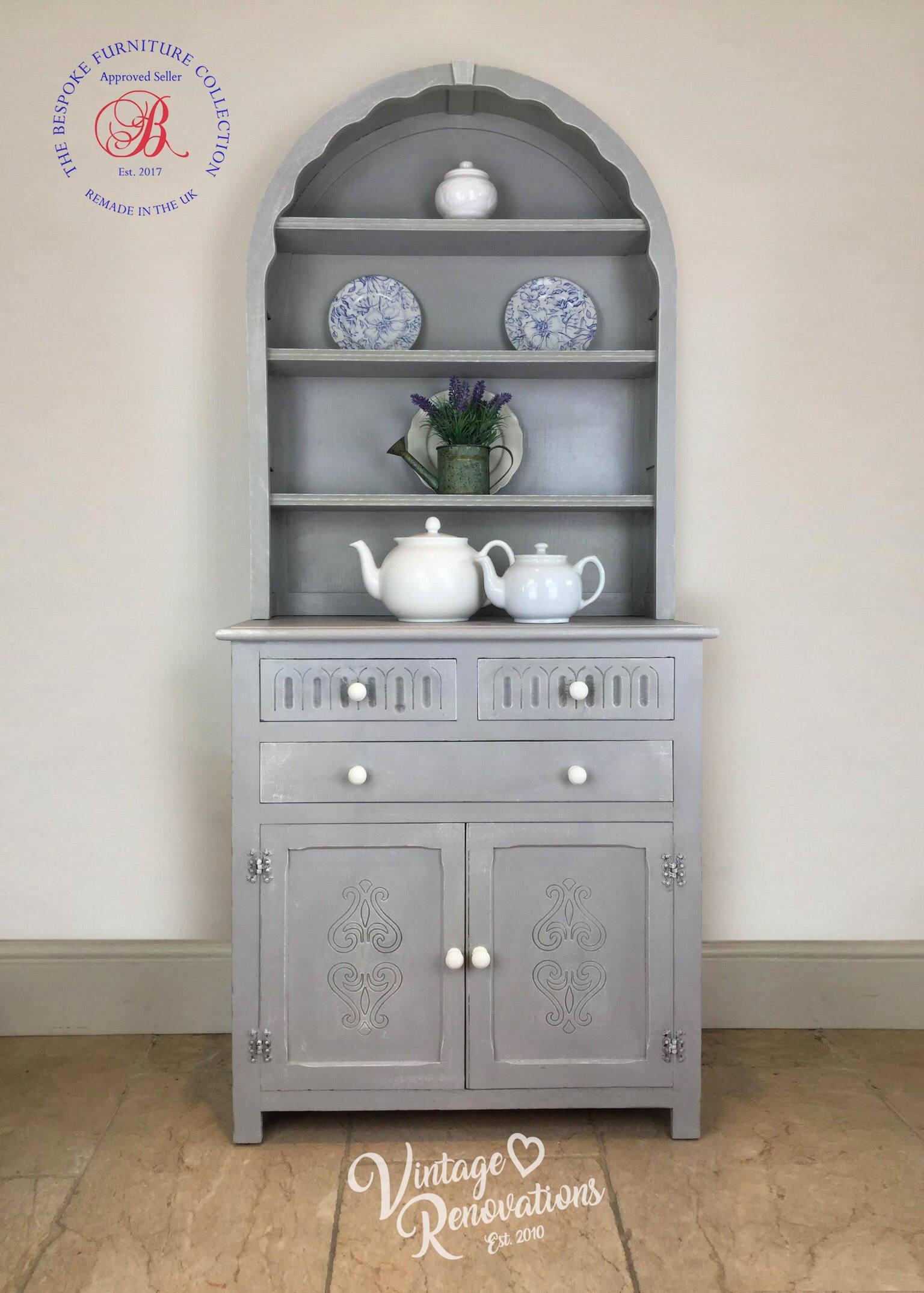 Grey Dresser Dutch Welsh Kitchen