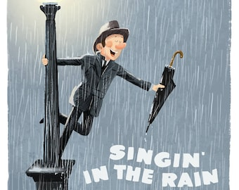 Singing In The Rain (Film Poster reimagined)