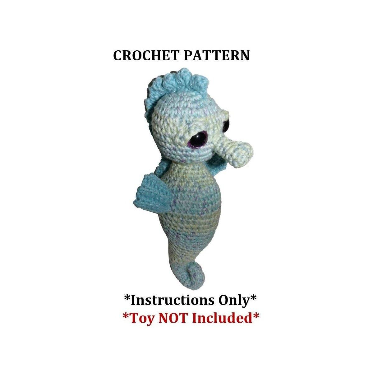 Essie The Seahorse Crochet Pattern Etsy