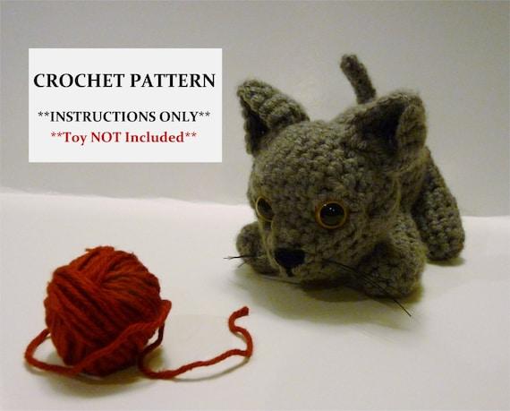 Kitten Crochet Pattern Adorable Amigurumi Kitten Etsy