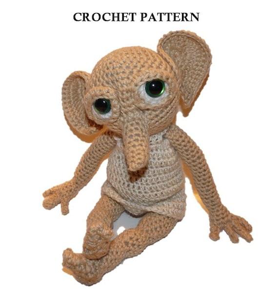Elf Crochet Pattern Hobby The House Elf Doll Not Included Etsy