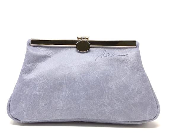 Cosmetic purse,kaa berlin , makeup bag, Clutch Bag, blue