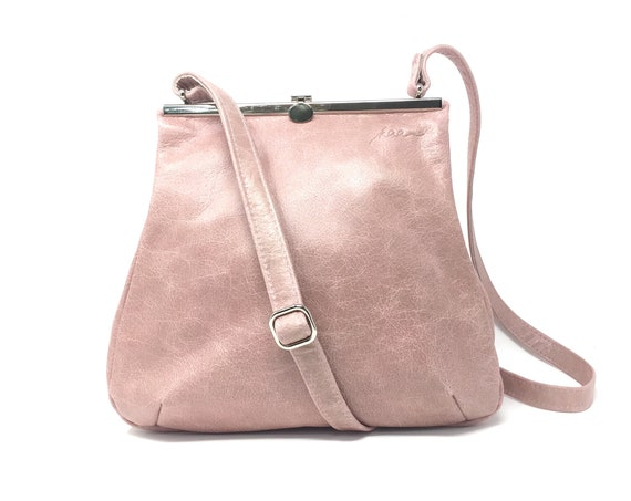 pink Leatherbag