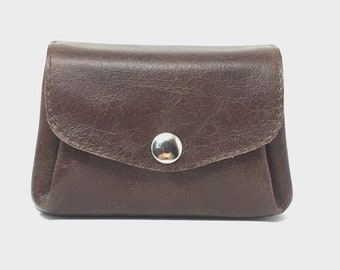 """Wallet leather brown , leather wallet """" CACAO"""""""