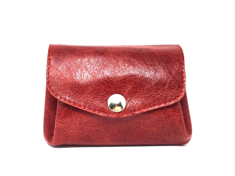 f8e8f5399f4fb Rotes Portemonnaie aus LederLederportemonnaie rotGeldbörse