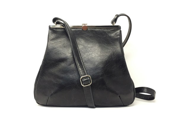 leather bag,handbag black, kaa berlin