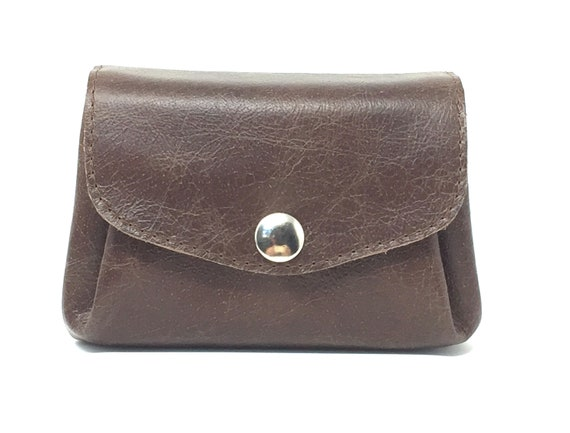 """Wallet leather , leather wallet """" MOCCA """" , leather purse, leather wallet , dark brown leather"""