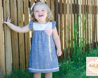PATTERN All Seasons Dress & Top - PDF Sewing Pattern - Instant Download - Tadah Patterns