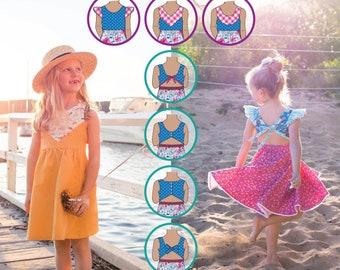 PATTERN Festival Dress - PDF Sewing Pattern - Instant Download - Tadah Patterns