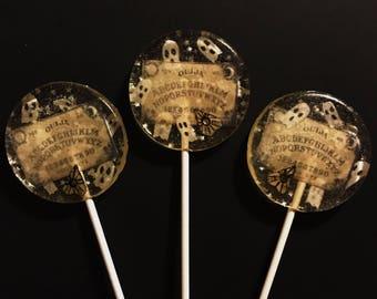3 Spooky Ouija Board Halloween Party Favors Lollipops