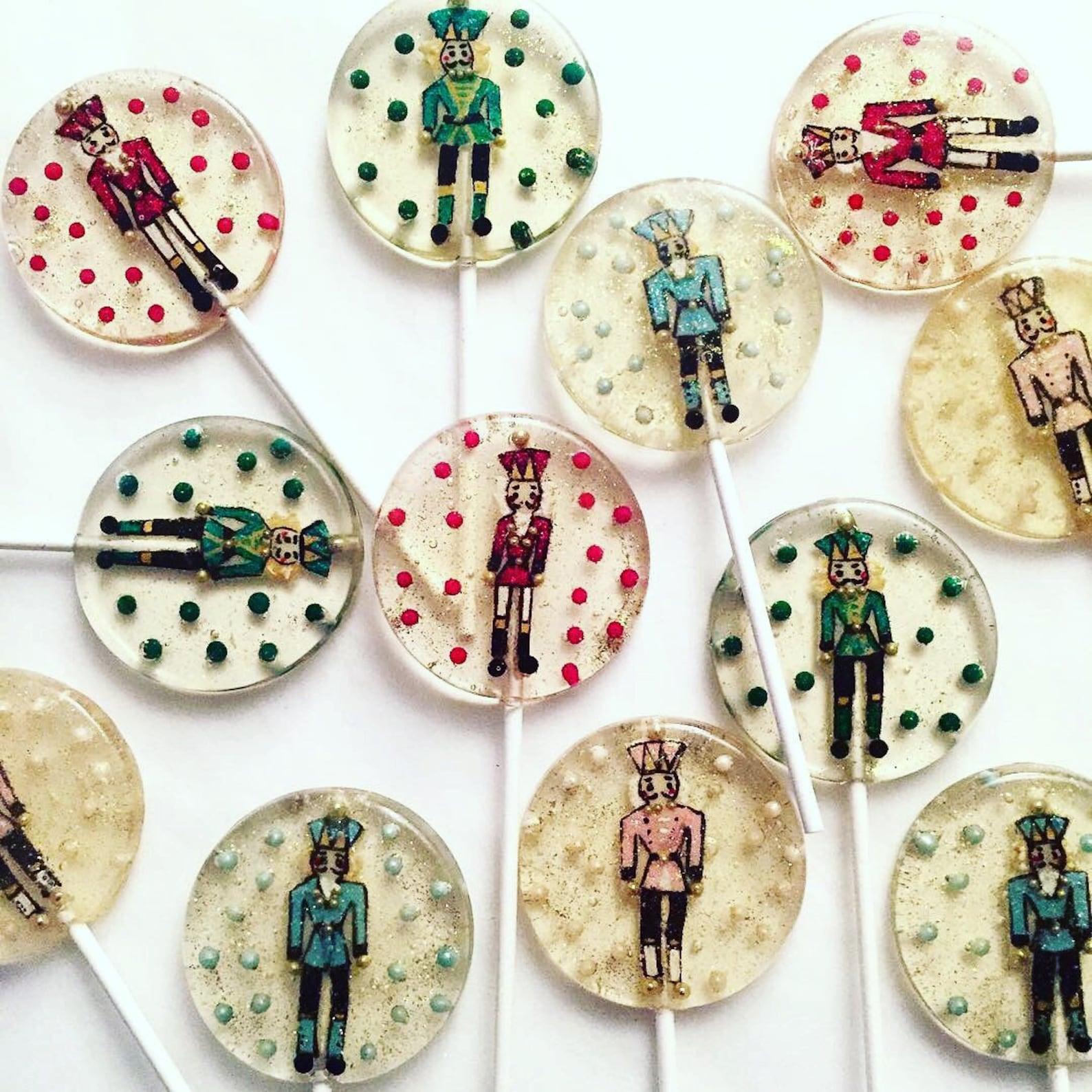 Nutcracker Lollipops