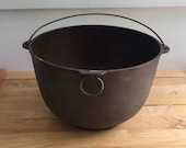 Wagner Sidney O Cast Iron Cooking Pot, Vintage Cast Iron Dutch Oven