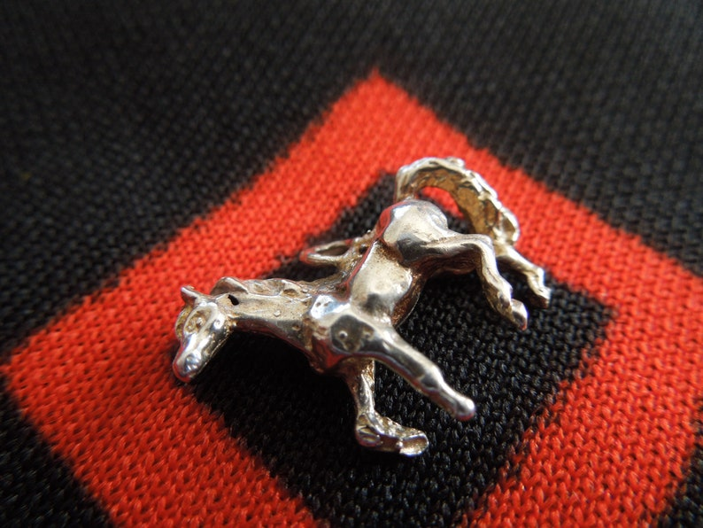 Sterling Horse Charm Cast Silver Horse Charm for Bracelet from Charmhuntress 05421