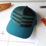 The Stanley Hat. Handwoven trucker hat. Made in Canada