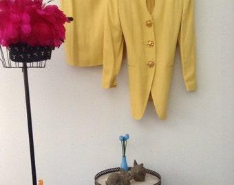 9aad8d82bfd971 Vintage Rena Lange Anzug