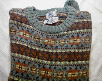 9d9abdc6f8 Pull en laine Izod Lacoste vintage pour homme
