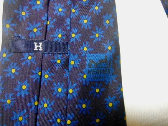 Hermes Vintage Silk Tie - image 3
