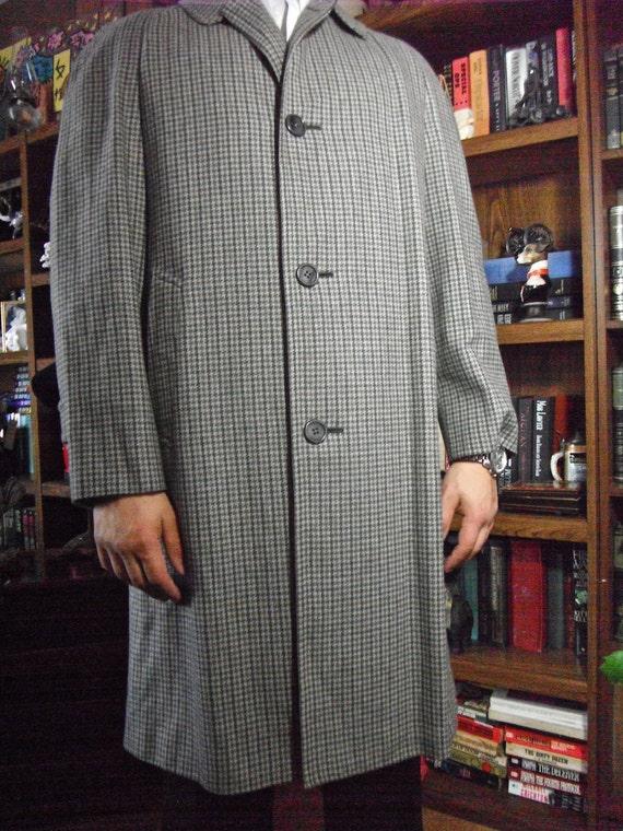Aquascutum Vintage Check Coat