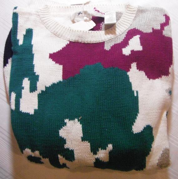 Vintage Mens Perry Ellis Sweater