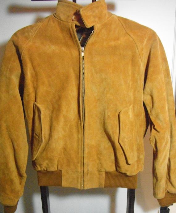 Vintage Bonwit Teller Suede Jacket