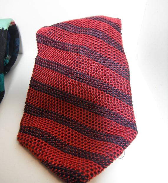 Vintage Silk Knit Tie
