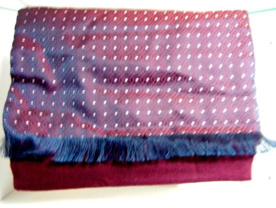 Vintage Silk & Wool Scarf