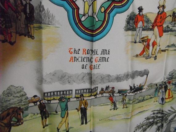 Vintage Hermes Silk Scarf - image 4