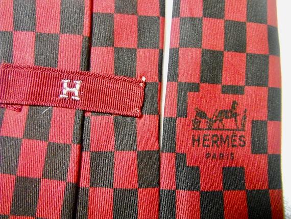 Vintage Hermes Silk Tie - image 3