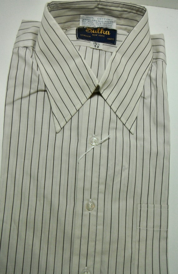 Vintage Sulka Dress Shirt