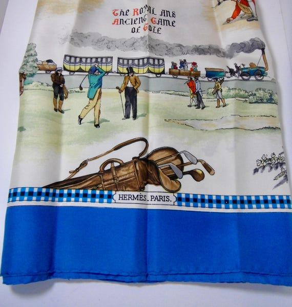 Vintage Hermes Silk Scarf - image 2