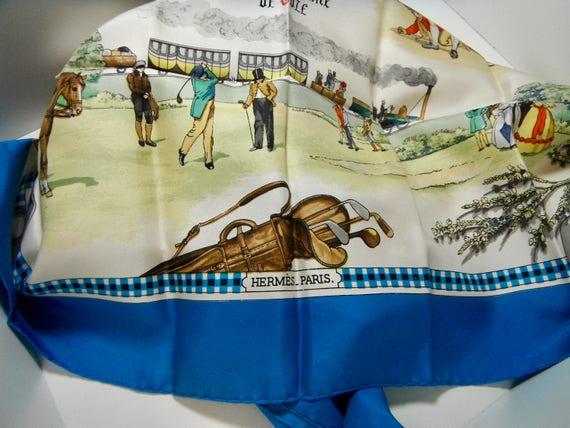 Vintage Hermes Silk Scarf - image 3