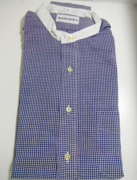 Vintage Mackenzie Collarless Shirt
