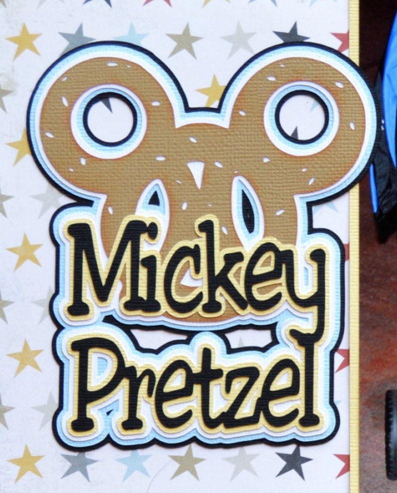 Mickey Pretzel Clipart