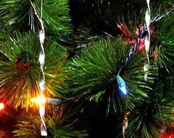 Vintage style metal Christmas Tree Icicles