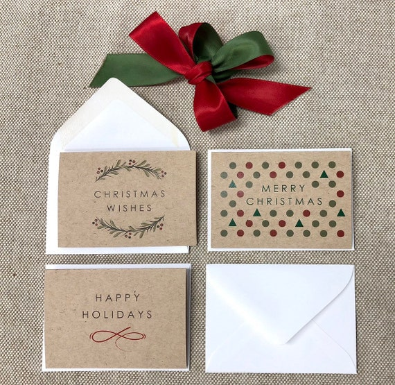 Small Christmas Gifts.Set Of 6 Mini Kraft Christmas Gift Cards Mini Gift Cards Small Cards For Gifts Blank Small Christmas Cards Inside Blank Tiny Cards