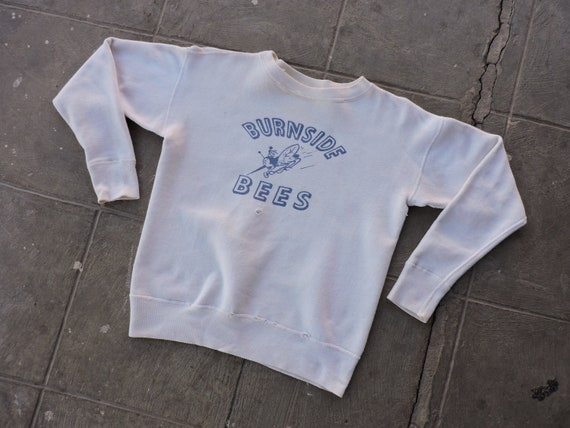 BEAT To HELL Rare Vintage 50s Burnside Bees Sweats
