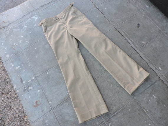 BEAT To HELL Rae Vintage 70s High Waisted  Bell Bo