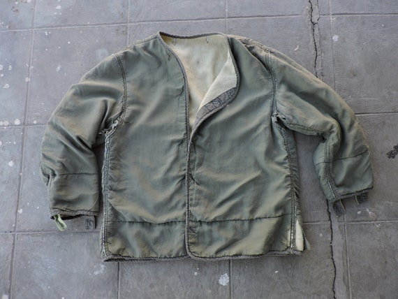 BEAT To HELL Rare Vintage 40s Olive Green Military