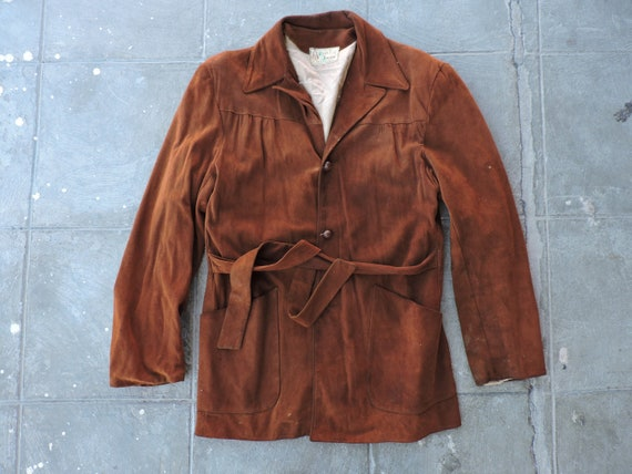 BEAT To HELL Rare Vintage 40s 50s Don Juan Belted