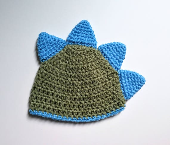 Crochet Dinosaur Hat Diaper Cover And Booties Pattern Baby Etsy