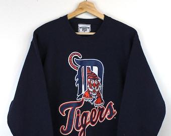 release date 29e16 4e2ef Detroit tigers sweatshirt   Etsy